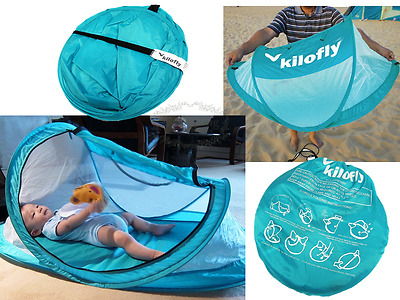 New Baby Outdoor Sun Protection Mosquito Tent Net Beach Shade Travel Bed System