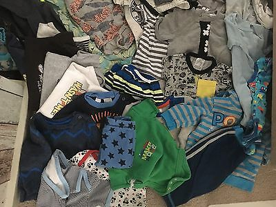 Baby Boy Clothes Bundle 3-6 Months 00 Great Condition 40+ Pieces