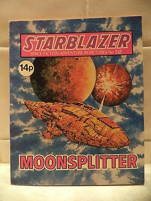 STARBLAZER COMIC, No 50. D C Thomson & Co Ltd