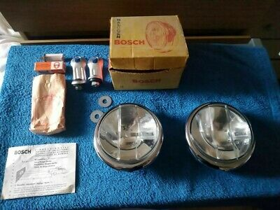 Bosch fog lights fog lamps Mercedes Porsche 911 356 vw split bug bus