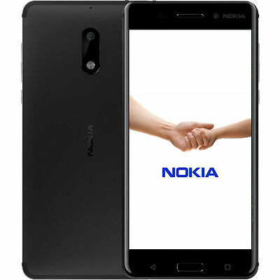 Unlocked Nokia 6 5.5'' Android 32GB 64GB 16MP Octa Core Dual SIM Smartphone