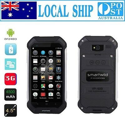 AU 4.5'' Unlocked Smartphone Quad Core Rugged Android Discovery Smartwild Nut1