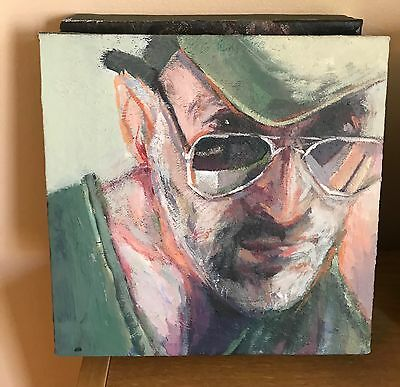 Original new Modern Oil Painting Portrait on Canvas Wall Art by artist