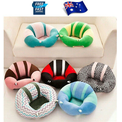 12 Colors Cotton Baby Support Seat Soft Chair Car Cushion Sofa Plush Pillow Toys