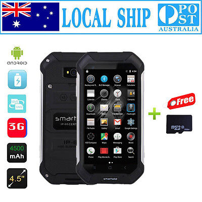 32GB Discovery Smartwild Nut1 V19 Smartphone Quad Core Rugged Android Phone