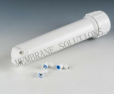 50/100/150GPD RO Membrane Reverse Osmosis Housing Connector with 3Pcs Fittings