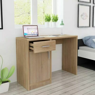 Desk with Drawer and Cabinet Home Office Computer PC Writing Table 100x40x73 cm