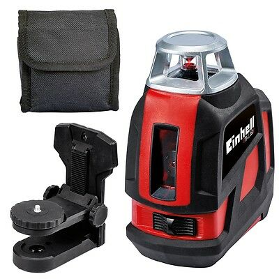 Einhell Cross Laser Level TE-LL 360 Red Walls Floors Ceiling Workpieces 2270110