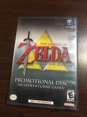 Nintendo Gamecube The Legend of Zelda Collector's Edition Game - Free Shipping