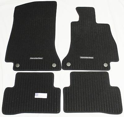 New !!! Genuine Mercedes C Class W205 Ribbed Carpet Mats Mat Set 2013-2017