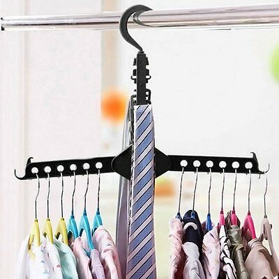 Dual Hanger Clothes Hanger No Need Folding Space Save Hook Rack Wardrobe Hanger