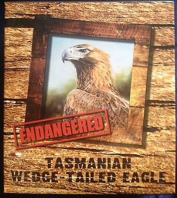 2012 Tasmanian Wedge Tailed Eagle Endangered and Extinct 1oz Silver Proof Coin