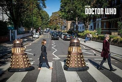 DOCTOR WHO ABBEY ROAD New Poster