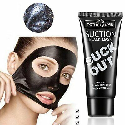 Bamboo Charcoal Nose Suction Mask Face Black Head Remover Acne Pores Skin Care O