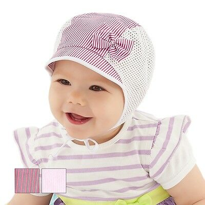 Summer baby hat children hat for little girl up to 3 months size 36/38