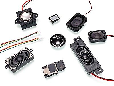 DCC Sound Miniature Speakers For Hornby, Bachmann, Heljan, Dapol, Vitrains, Bass