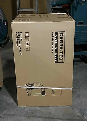 Dust Extractor 2HP Carbatech  new in box