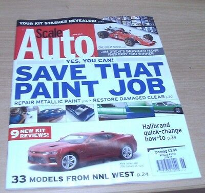 Scale Auto Enthusiast magazine Jun 2017 Restoring & repairing damaged paintwork