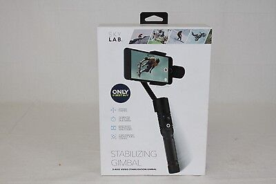 NEW Genuine Sky Lab 3-Axis Video Stabilizer Gimbal for Mobile Phones Black
