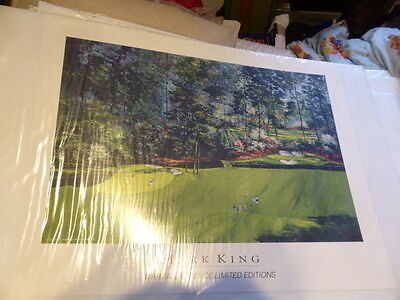 MARK KING  Poster Martin Lawrence LIMITED EDITION Print GOLF