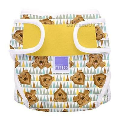 NEW Bambino Mio Miosoft Reusable Nappy Cover - Grizzly, Size 2