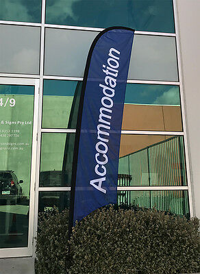 3.5m Accommodation Flag / Outdoor Flag for Motel Hotel  - Ready to Ship!
