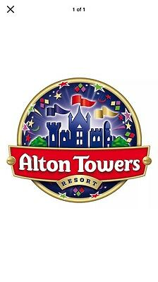 X2 Alton Towers Tickets For 23rd June
