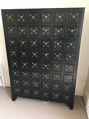 Gorgeous Chinese Medicine cabinet