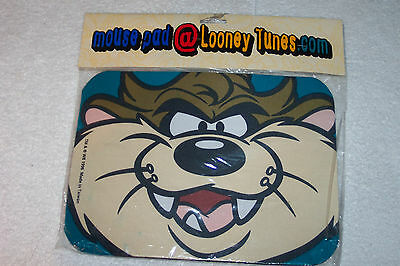 Vintage 1996 LOONEY TUNES Taz Mouse Pad Warner Bros. Store Exclusive - New