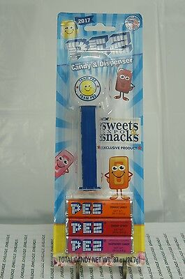 2017 Pez Sweets & Snacks Expo Exclusive Dispenser~New Sealed~Free Ship In Us