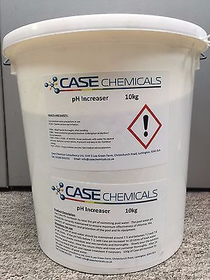 pH Increaser (Plus +) 10kg Swimming Pool Chemicals & Spa **Cheapest on eBay**