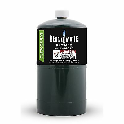 BernzOmatic 465g Propane Cylinder, Great for Camping