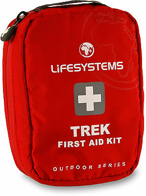 Lifesystems Trek First Aid Kit /manufactured to European quality standards and