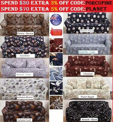 Stretch Fit Sofa Cover Lounge Couch Removable Slipcover Recliner Washable