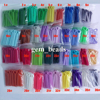36 color For choose Dental Orthodontic Ligature Ties 1040pcs/pack