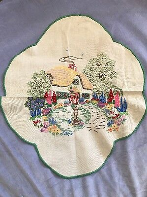 Vintage/Antique Hand Embroidered Cloth