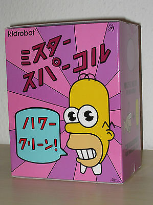 Kidrobot x The Simpsons Mr. Sparkle (Homer)