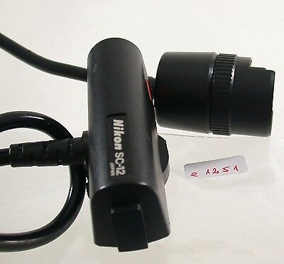 Original Nikon SC-12 Flash Blitz Kabel Cord Kamera Camera Foto Photo Lens (7)