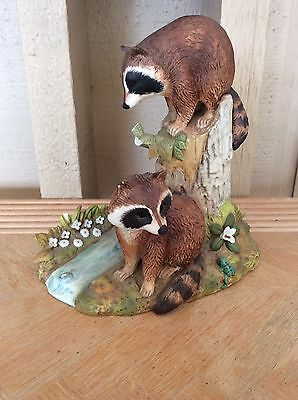 Racoon Family by Andrea Ceramic