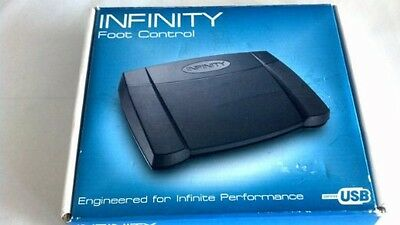 Nmib Infinity Foot Control In-Usb-2 Pedal Transcription Dictation Recording