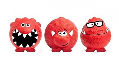 Set of 3 Dinosaur Red Nose Day Comic Relief 2013  Noses all SEALED