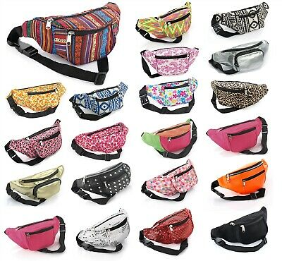 Bum Bag Pouch Fanny Pack Travel Holiday Festival Pouch Belt Wallet Money