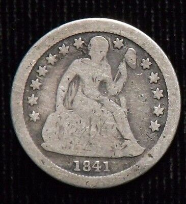 1841 O Seated Liberty Dime  G - VG