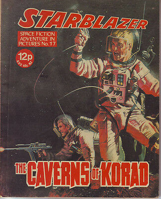 Starblazer  No 17 The Caverns Of Korad  Space Fiction Adventure In Pictures