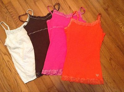 Justice Lot Of 4 Cami Tank Tops-Size 16