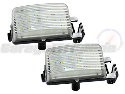 Nissan 18 LED Number Plate Lights Licence Units 350z 370z GT-R Infiniti Pulsar