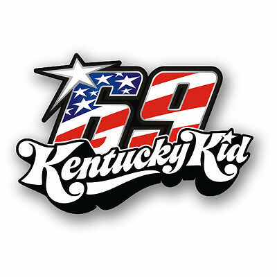 Nicky Hayden # 69, Kentucky Kid, Aufkleber Sticker
