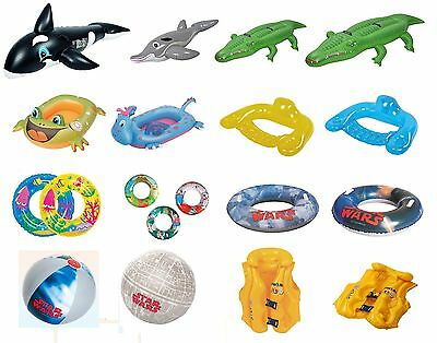 Inflatable Blow Up Rings, Riders, Beach Ball, Vest, Swimming Pool Children Lilo