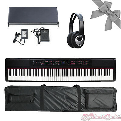 NEW Version 2 Artesia PA88W Weighted Electronic Digital Piano Keyboard White