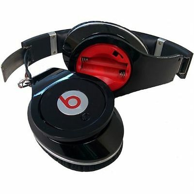 Beats by Dr Dre Studio Over Ear Wired Headphones Black FOR PARTS